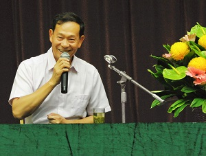 Master Ou Lecture Hong Kong